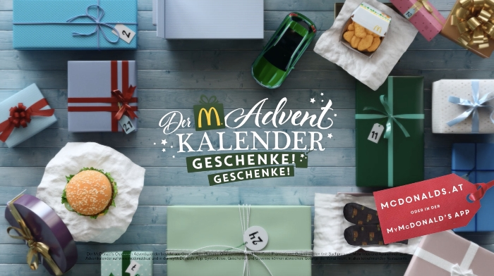 Advent campaign for McDonald´s